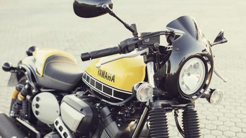 """""""Soi kỹ"""" Yamaha XV950 Racer 2016 bản kỷ niệm và bản màu xám - 4"""