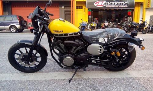 """""""Soi kỹ"""" Yamaha XV950 Racer 2016 bản kỷ niệm và bản màu xám - 5"""