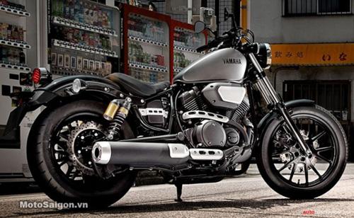 """""""Soi kỹ"""" Yamaha XV950 Racer 2016 bản kỷ niệm và bản màu xám - 7"""