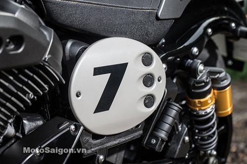 """""""Soi kỹ"""" Yamaha XV950 Racer 2016 bản kỷ niệm và bản màu xám - 10"""