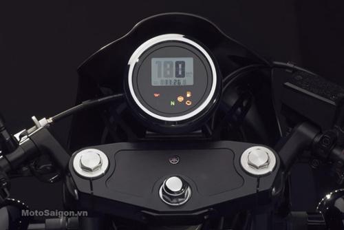 """""""Soi kỹ"""" Yamaha XV950 Racer 2016 bản kỷ niệm và bản màu xám - 12"""