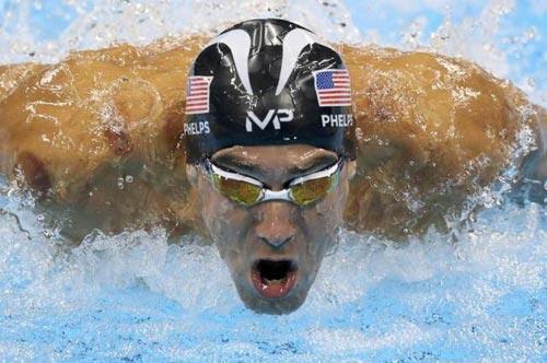 Olympic: Michael Phelps san bằng kỷ lục 2168 năm - 2