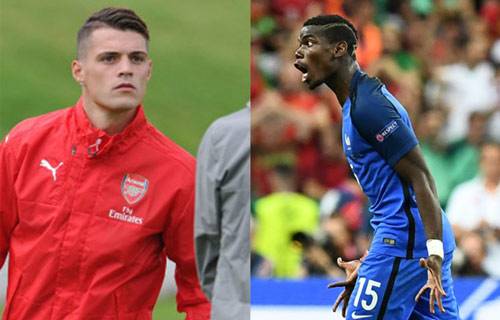 Pogba - Xhaka: Cặp đấu nảy lửa Vieira-Keane tái hiện ở NHA - 2