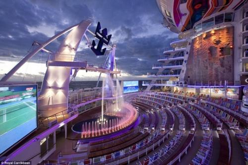 Du thuyền lớn nhất thế giới hoành tráng cỡ nào? - 8