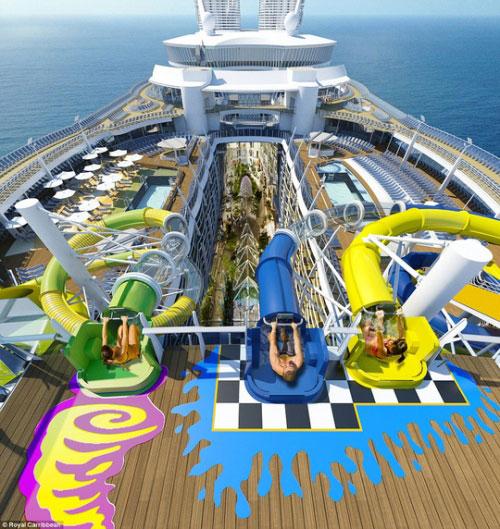 Du thuyền lớn nhất thế giới hoành tráng cỡ nào? - 7