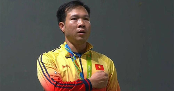 Xạ thủ Hoàng Xuân Vinh có hơn 5,5 tỷ đồng tiền thưởng - 1