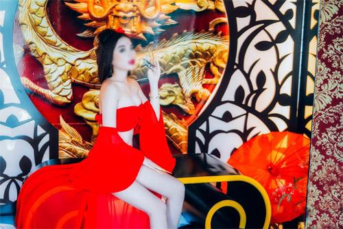 """Hot girl 16 tuổi """"gây sốc"""" với bộ ảnh Phan Kim Liên - 4"""