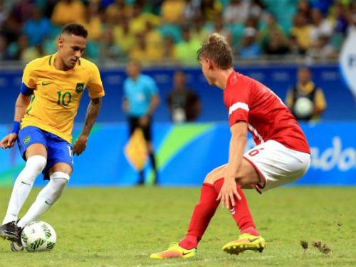 Tin HOT tối 11/8: Brazil & Đức gặp khó ở Tứ kết Olympic - 1