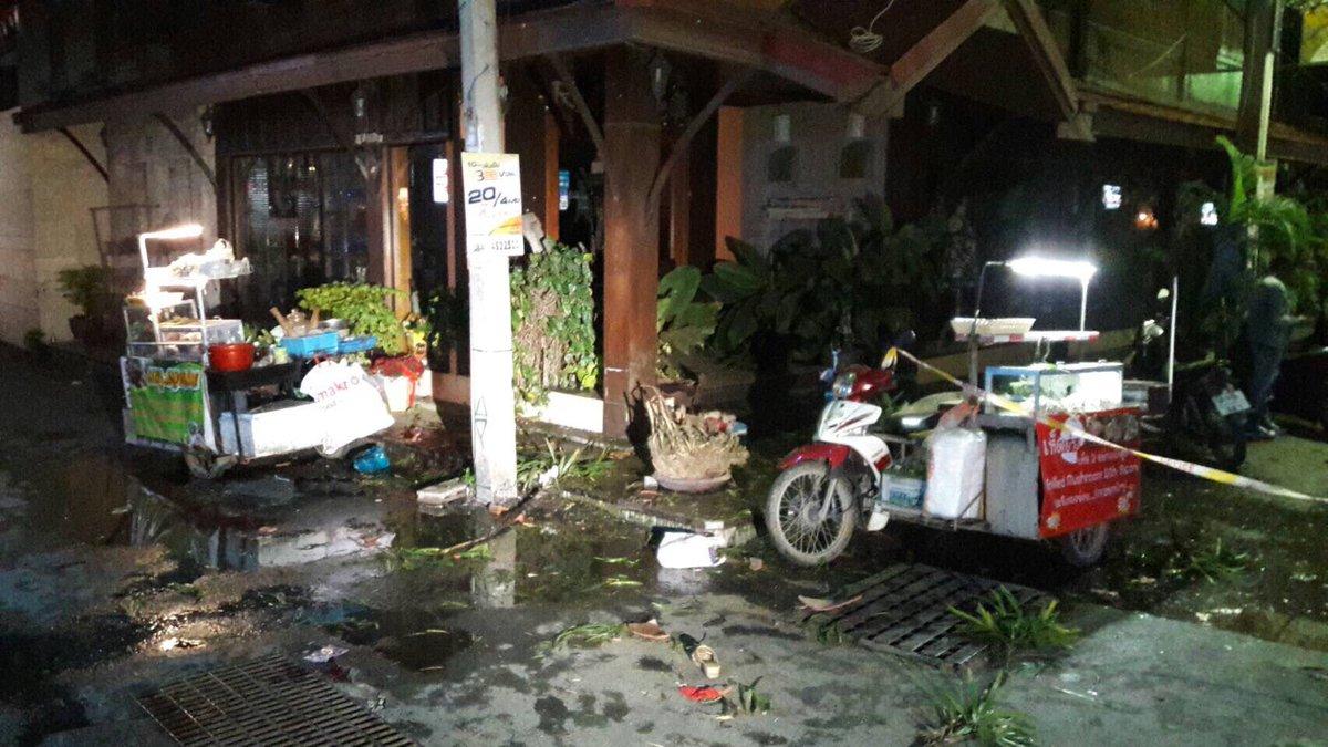 Đánh bom ở khu nghỉ dưỡng Thái Lan, 23 người bị thương - 1