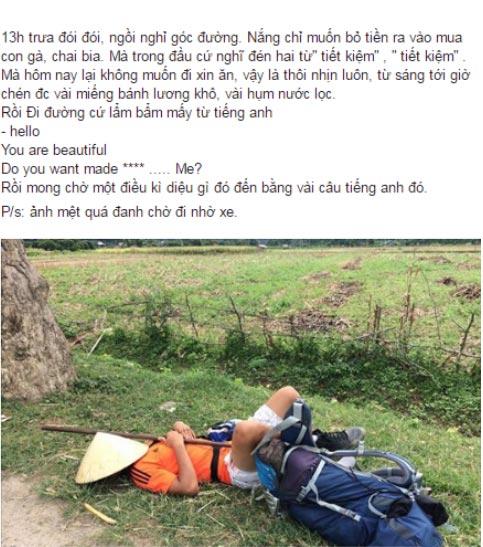 """""""Gã ăn mày"""" ở Hải Dương đi bộ xuyên Đông Nam Á - 4"""