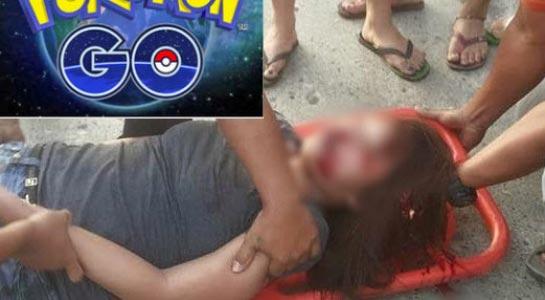 Những tai nạn đau lòng vì chơi Pokemon Go - 1