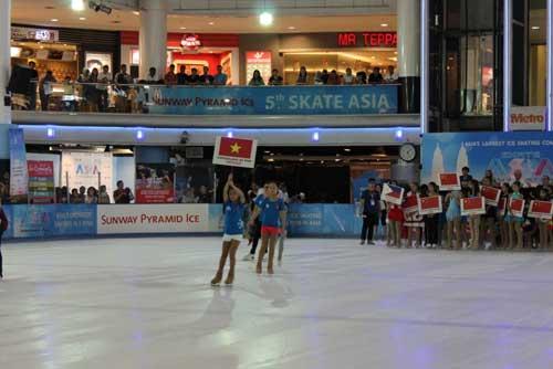 Vinpearl Land đưa HCV đầu tiên tại Giải trượt băng Châu Á - 1