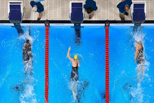 Chấn động Olympic: 2 kình ngư phá kỷ lục cùng gặt HCV - 1