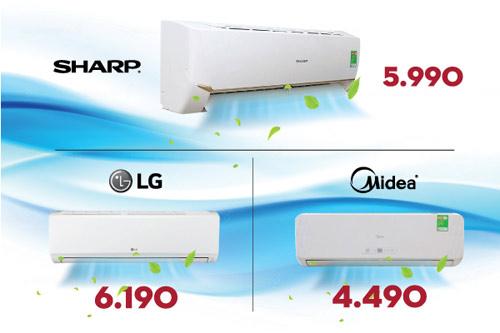 Điện máy HC - Tiếp tục xả kho hàng ngàn sản phẩm giá sốc - 1