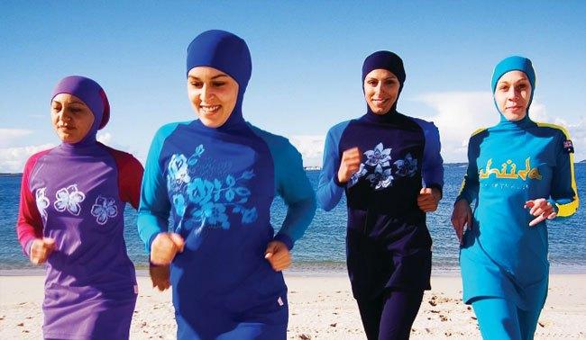 Pháp: Cấm phụ nữ mặc áo bơi Hồi giáo đi biển - 2