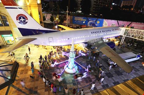 Đại gia TQ chi 5 triệu đô mua máy bay làm nhà hàng - 1