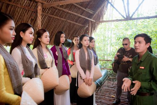 Thí sinh Hoa hậu Việt Nam đẹp hút hồn với áo bà ba - 10