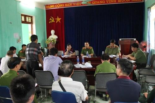 Thứ trưởng CA lên Lào Cai chỉ đạo điều tra vụ thảm án - 1