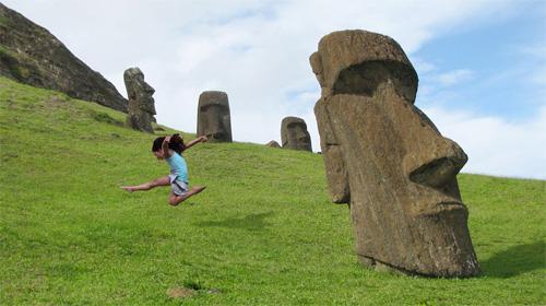 Bé gái 5 tuổi rong ruổi khắp hành tinh - 8