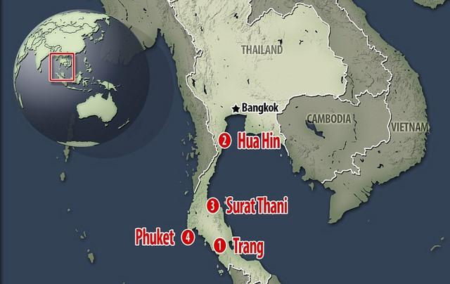 Thái Lan hứng chịu 11 vụ đánh bom liên tiếp trong 24 giờ - 1