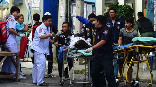 Thái Lan hứng chịu 11 vụ đánh bom liên tiếp trong 24 giờ - 3