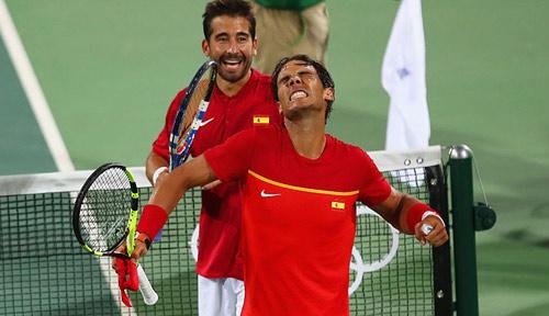 Tennis Olympic ngày 7: Nadal và Lopez đoạt HCV đôi nam - 3