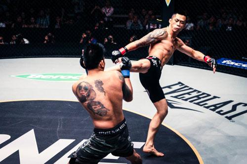 """MMA: Võ sĩ gốc Việt đụng """"Cơn ác mộng châu Á"""" - 1"""