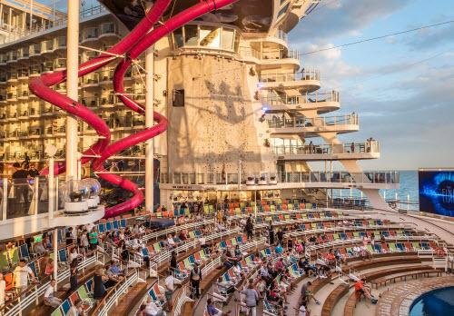 """Mục sở thị du thuyền """"khủng"""" nhất thế giới - 1"""