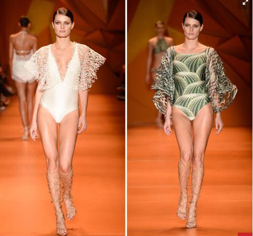 Siêu mẫu Brazil gây sốc khi mặc bikini trong đám cưới - 3