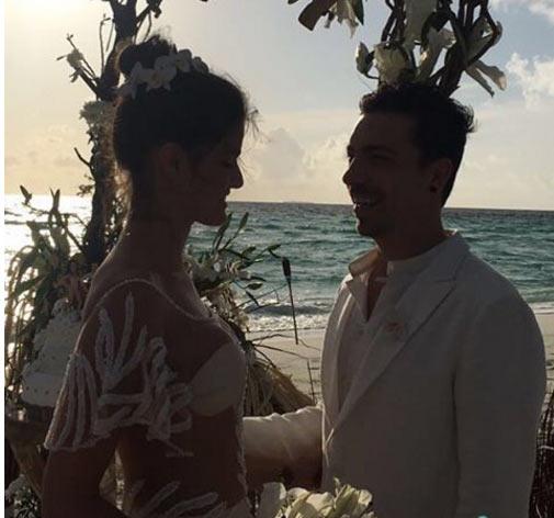 Siêu mẫu Brazil gây sốc khi mặc bikini trong đám cưới - 6