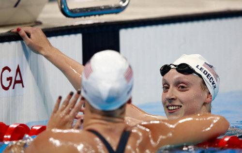 Tin nóng Olympic ngày 7: Ledecky đoạt Vàng, phá 2 kỷ lục - 4