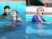 Thí sinh Next Top Model quằn quại chụp hình dưới nước