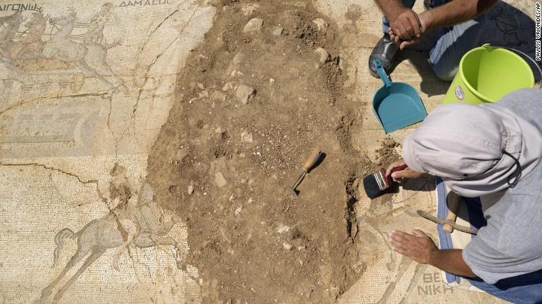 Phát hiện tranh khảm tinh xảo vô giá từ thế kỷ thứ 4 - 3