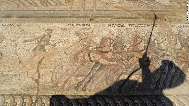 Phát hiện tranh khảm tinh xảo vô giá từ thế kỷ thứ 4 - 2
