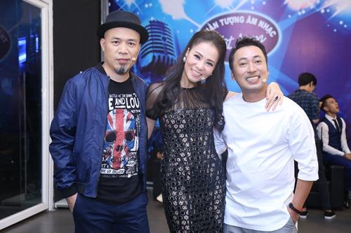 Thu Minh diện lại váy cũ làm giám khảo Vietnam Idol - 3