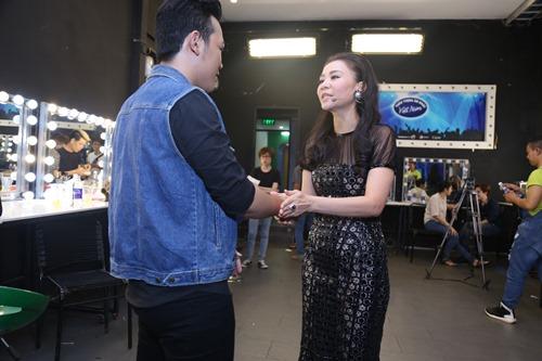 Thu Minh diện lại váy cũ làm giám khảo Vietnam Idol - 6