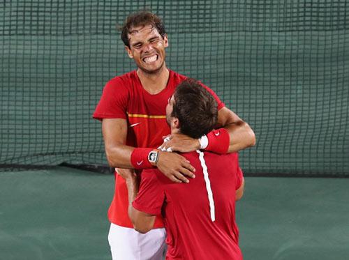 Tennis Olympic ngày 7: Nadal và Lopez đoạt HCV đôi nam - 1