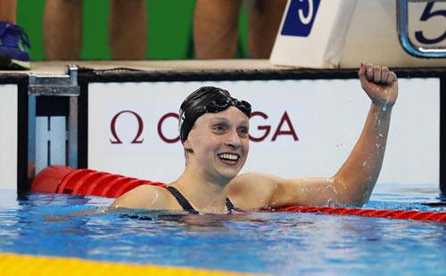 Tin nóng Olympic ngày 7: Ledecky đoạt Vàng, phá 2 kỷ lục - 1