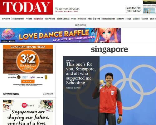 Olympic: Lật đổ Phelps, báo chí đưa Schooling lên đỉnh - 5