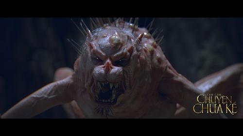 """""""Tấm Cám"""" hé lộ quái vật ghê rợn khiến khán giả bất ngờ - 1"""