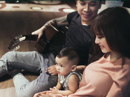 Lê Hoàng The Men khoe ảnh ngọt ngào bên vợ con - 5