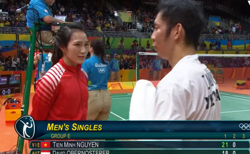 Tiến Minh đấu Lin Dan ở Olympic: Đã chơi sao phải sợ - 2