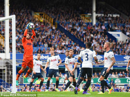 Everton - Tottenham: Bùng cháy về cuối trận - 1