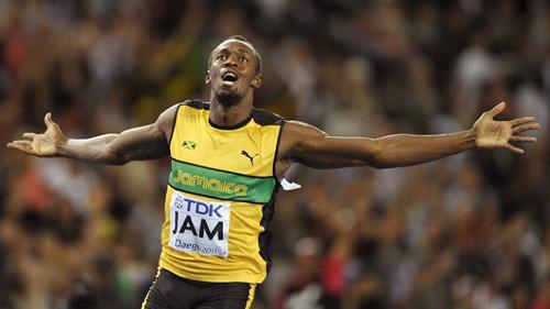Usain Bolt chạy vòng loại 100m trên 10 giây - 1