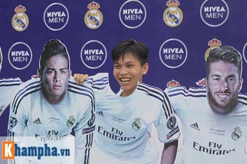 Cầu thủ phong trào Hà Nội cuồng nhiệt tranh vé sang Real Madrid - 15