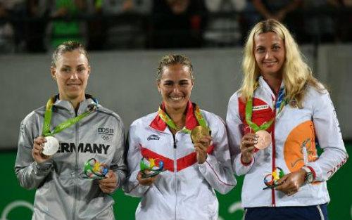 Kerber - Puig: Chuyện cổ tích có hậu (CK đơn nữ Olympic) - 1