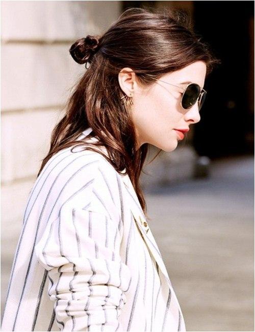 4 kiểu búi tóc sành điệu chỉ dành riêng cho nàng tóc ngắn - 8