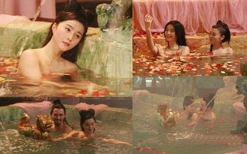 So độ nóng trên phim của Lưu Diệc Phi và Phạm Băng Băng - 6