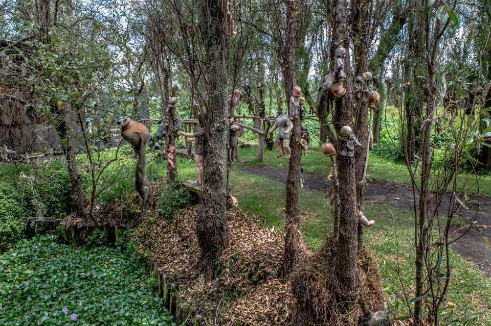 Rùng rợn hòn đảo treo cổ hàng nghìn búp bê - 3