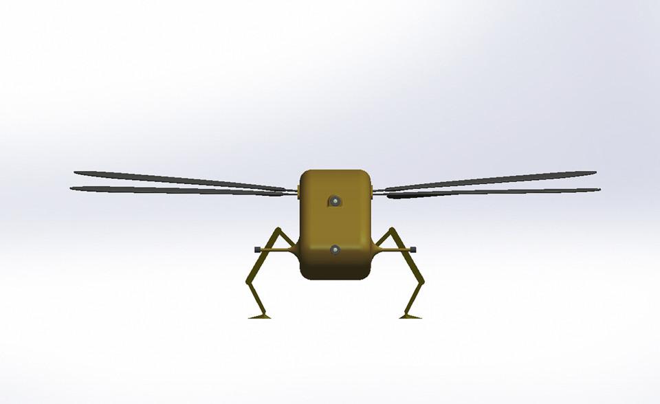 Anh sản xuất máy bay do thám nhỏ như chuồn chuồn - 2